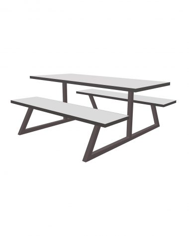 Avon Table and Bench