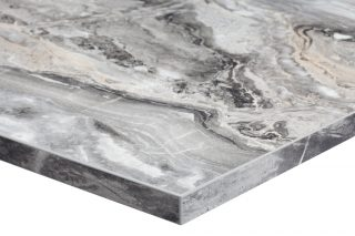 Marble Contract Table Tops Commercial Table Tops Du Pont Chamfered Bullnose Contract Furniture UK Birmingham Manchester Restaurant Cafes