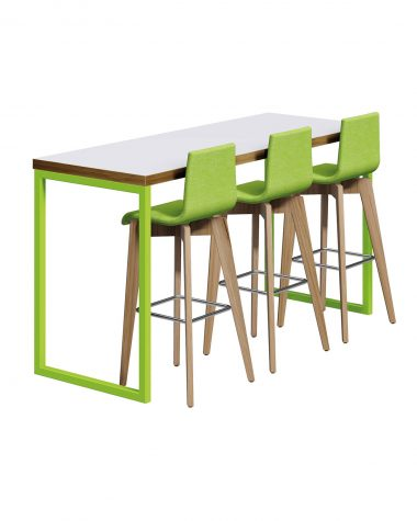 HOMEWORK KAE Wordpress > Dashboard . Media > Library > 'Alternative tag' and rename all images Commercial Contact Restaurant Furniture Weston-super-Mare Bristol Tables Cafe Chairs Office Furniture Shop - Lime Green Tall