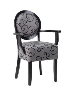 Ariana Side Chair -upholstered seat & back)