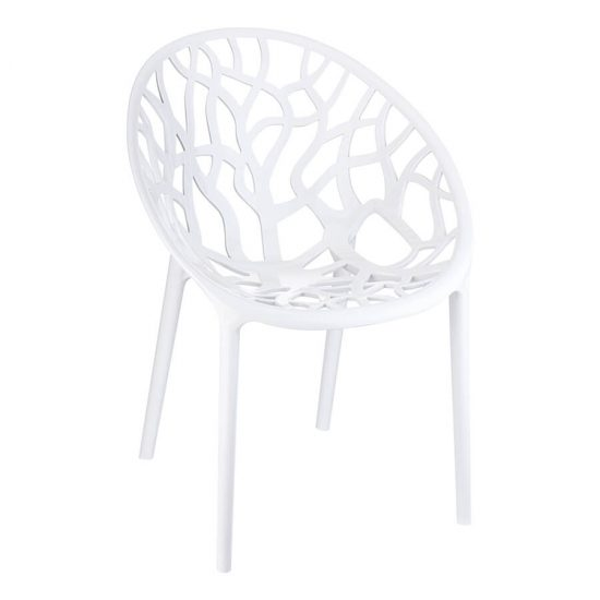 Crystal Chair - Glossy White