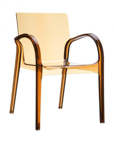 Dewsbury Armchair - Black Transparent