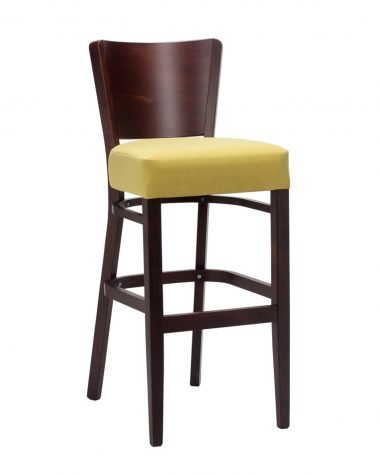 Toby Slim Side Chair - solid back