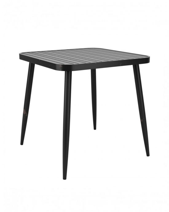 Lyon Square Dining Table (black)