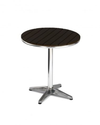 Seville Square Table (no wood - black)