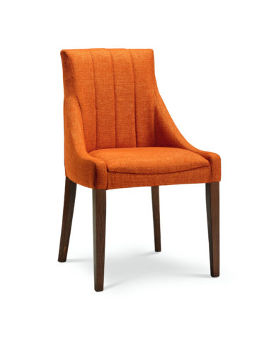 Nina Side Chair (fluted back)