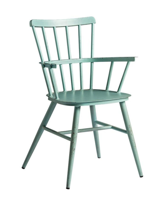 Spindle Retro Armchair - Vintage Light Blue